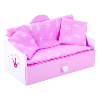 Кроватка для кукол Mary Poppins Кроватка-софа деревянная Корона цена и фото