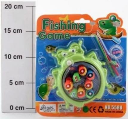 Купить Набор Рыбалка, 8 рыбок, в ассорт., Наша Игрушка, унисекс, Игровые наборы для мальчиков