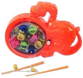 Купить Набор рыбалка зав. Динозаврик, Наша Игрушка, унисекс, Игровые наборы для мальчиков