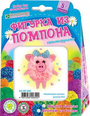 Набор для творчества Клеvер Маленькая свинка от 8 лет цена