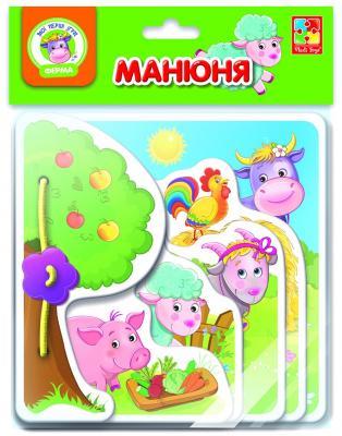 Настольная игра Vladi Toys развивающая Ферма vladi toys настольная игра обучарики времена года смешарики vladi toys