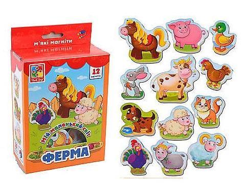 Настольная игра Vladi Toys развивающая Мой маленький мир Ферма настольная игра vladi toys развивающая транспорт
