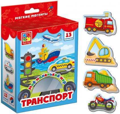 НИ магнитная Мой маленький мир Транспорт обучающая игра vladi toys мой маленький мир зоопарк