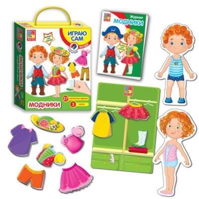 Настольная игра Vladi Toys игры с прищепками Модники