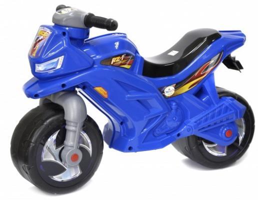 Каталка-мотоцикл Orion Toys ОР501С синий от 2 лет пластик каталка машинка r toys bentley пластик от 1 года музыкальная красный 326