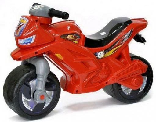 Каталка-мотоцикл Orion Toys ОР501в3Кр красный от 2 лет пластик бондажная лента orion bondage tape 18 метров