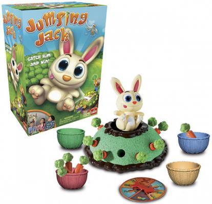 Купить НИ интерактивная Кролик-попрыгунчик, Goliath, 27 X 13 X 27 см, Игры для малышей