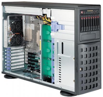 Серверная платформа 4U SATA BLACK SYS-7048R-C1RT4+ SUPERMICRO supermicro sys 7048r tr