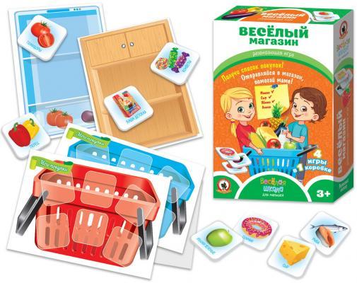Купить Настольная игра Русский Стиль развивающая Веселый магазин, 220x50x150 мм, Развивающие настольные игры