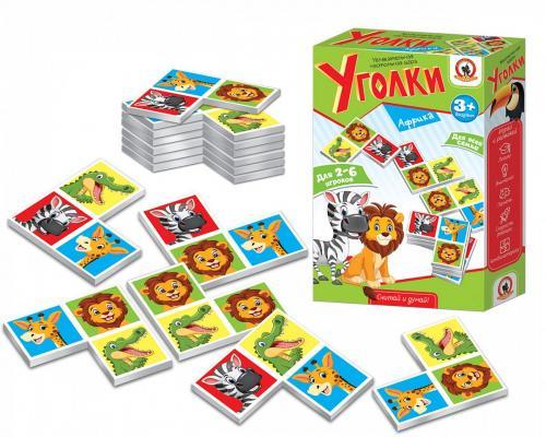 Настольная игра Русский Стиль карточная Уголки Африка настольная игра русский стиль маугли 03814