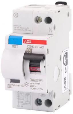 Диф. автомат ABB DSH941R C25 30мА тип АС автомат abb sh203l c25