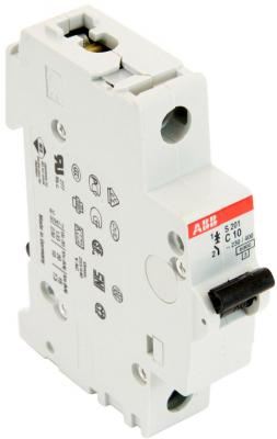 Автомат ABB S201 C10 1-полюсной автомат abb s201 c32
