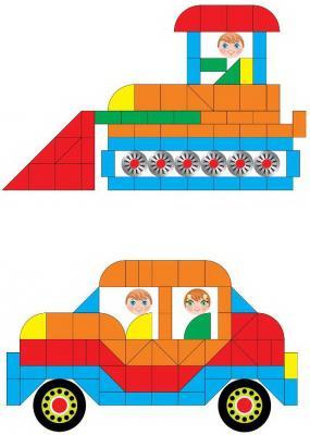 Купить Развивающая игра Русский стиль Магнитная мозайка, Обучающие материалы для детей
