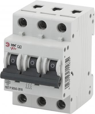 Автомат ЭРА Pro NO-901-57 ва47-63 3p 63а кривая c (4/60/1260)