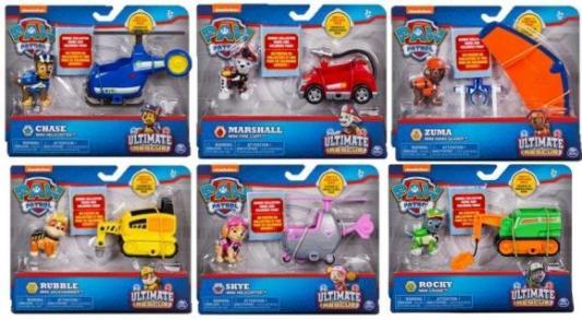 Купить Набор фигурок Spin Master мини машинка спасателя с фигуркой героя, Детские фигурки