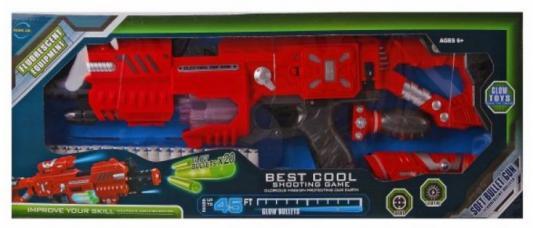 Купить Бластер Наша Игрушка Бластер красный, (ДхШхВ) 55х8х19 см, для мальчика, Игрушечное оружие