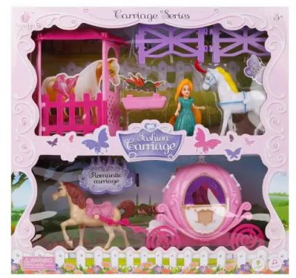 Карета с лошадью Наша Игрушка Карета игрушка конструктор забияка королевская карета 1157895