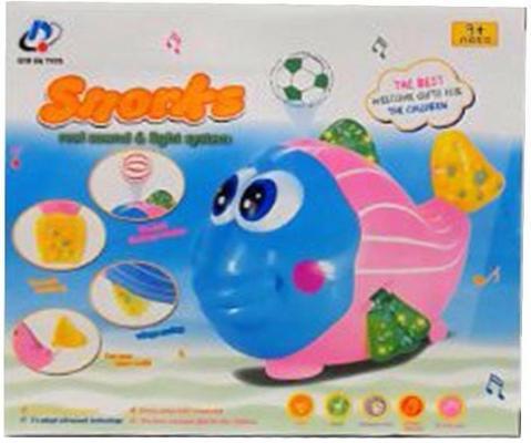 Купить Интерактивная игрушка Наша Игрушка Рыбка от 3 лет, разноцветный, пластик, унисекс, Игрушки со звуком