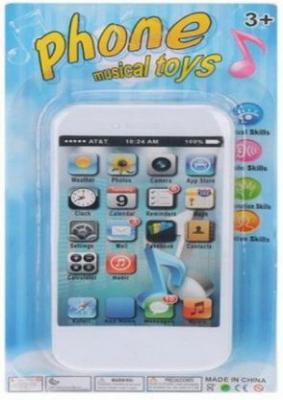 """Интерактивная игрушка Наша Игрушка """"Musical Toys"""" от 3 лет белый цена"""