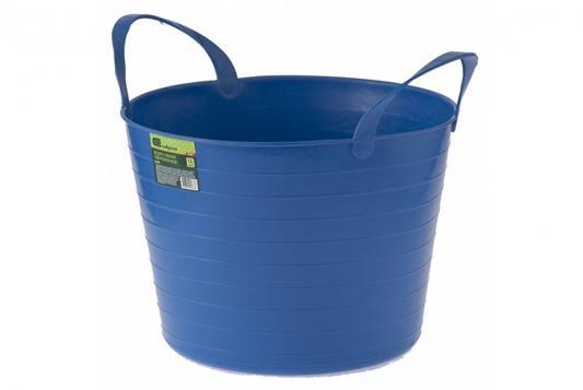 Ведро СИБРТЕХ 67503 гибкое сверхпрочное 14л синее ведро гибкое сверхпрочное 40л желтое сибртех