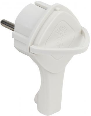 Вилка ЭРА V5(U) Б0026331 ультраплоская c/з 16A с кольцом белая (10/60/1440) все цены