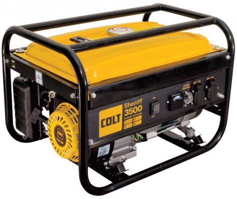 Генератор COLT Sheriff 3500 (499202) бензиновая qishi colt 125cc