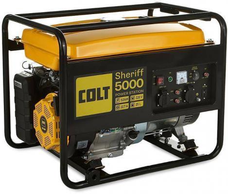 Генератор COLT Sheriff 5000 (499301) бензиновая генератор kronwerk kb 5000