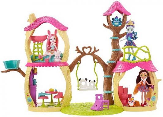 Замок лесной Enchantimals с куклой mattel набор с куклой enchantimals сюжетные наборы бри банни и твист