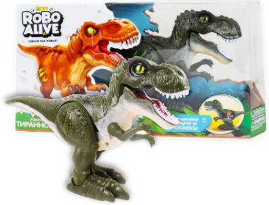 Тираннозавр ZURU INC. Т13693 пластик от 3 лет зелёный цены