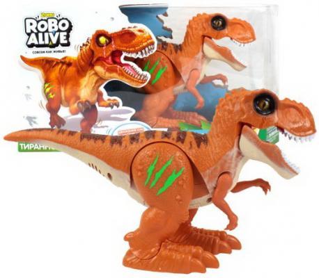 Тираннозавр ZURU INC. Т13694 пластик от 3 лет оранжевый zuru inc роборыбка тропическая бычок 2549 5