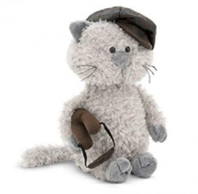 Купить Мягкая игрушка кот ORANGE Кот Обормот Меткий глаз искусственный мех плюш текстиль пластик 25 см, разноцветный, искусственный мех, плюш, пластик, текстиль, Животные