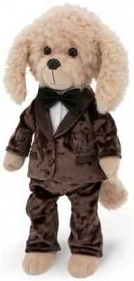 Мягкая игрушка Bobby Дресс-код 25, ORANGE, коричневый, 25 см, искусственный мех, плюш, пластик, текстиль, Животные  - купить со скидкой