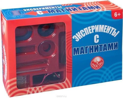 Набор для опытов Маэстро Эксперименты с магнитами maestro игровой набор маэстро частный детектив