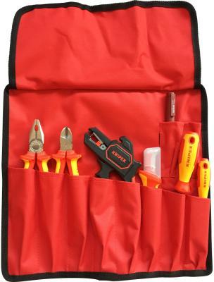 Набор инструментов KNIPEX VDE диэлектрический 8 предметов набор инструментов knipex универсальный 6 предметов