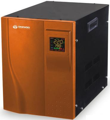 Стабилизатор напряжения DAEWOO DW-TZM10kVA 10кВт 140-270В 20мс кпд 95% защита от кз/помех 2х220В стабилизатор напряжения daewoo power products dw tzm10kva