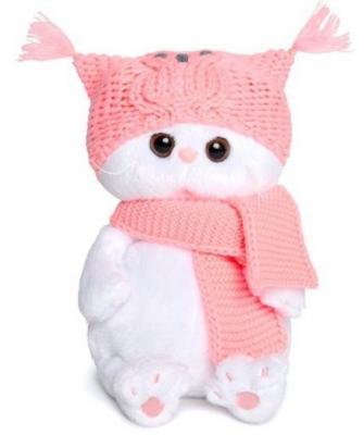 Купить Мягкая игрушка Кошечка BudiBasa Ли Ли Бэби искусственный мех текстиль белый 20 см, искусственный мех, текстиль, Животные