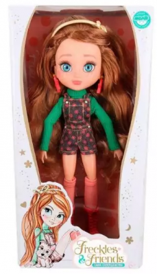 Кукла Freckles&Friends Подружка-веснушка Флори 27 см шарнирная figures houses girl friends stephanie mia olivia andrea emma andrea blocks learning toy gift compatible with with friends gift