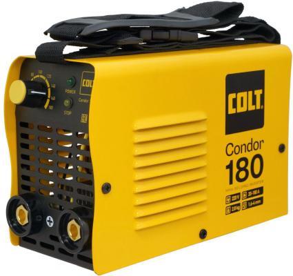 Инвертор COLT Condor 180 New сварочный max ток 180А инвертор сварочный colt condor 200а маска сварщика