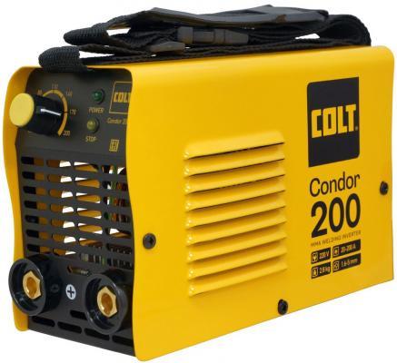 Инвертор COLT Condor 200 (49780) сварочный инвертор сварочный colt condor 200а маска сварщика