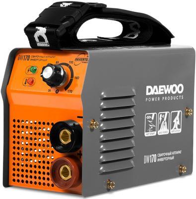 Аппарат сварочный инверторный DAEWOO DW 170 170А 6500Вт Ф1,6-4мм сварочный аппарат foxweld корунд 170 мини