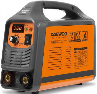 цена на Аппарат сварочный инверторный DAEWOO DW 260 260А 8500Вт Ф1,6-5мм
