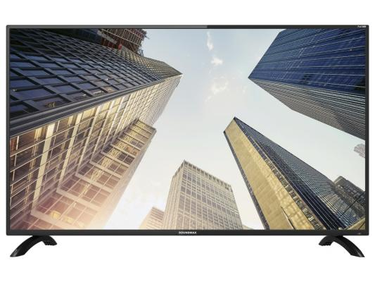 Телевизор Soundmax SM-LED 40M04 черный tv led soundmax sm led24m02 hd