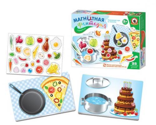 Купить Игра на магнитах Русский Стиль Поварёнок 5403, разноцветный, Мольберты и доски для детей