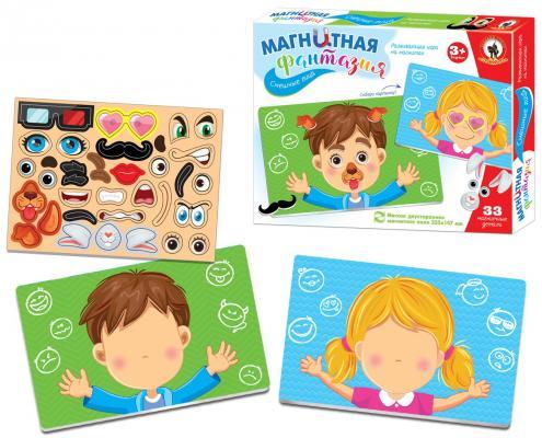 Купить Игра на магнитах Русский Стиль Магнитная фантазия. Смешные лица , разноцветный, Мольберты и доски для детей