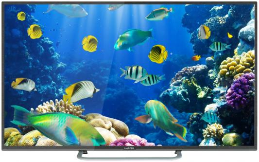 Телевизор 40 Harper 40F660TS черный 1920x1080 Wi-Fi RJ-45 SCART телевизор 40 harper 40f660ts full hd 1920x1080 smart tv черный
