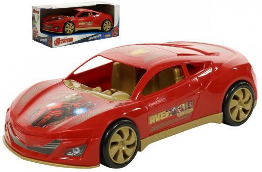 Автомобиль Полесье Marvel Мстители. Железный Челове красный polesie автомобиль marvel мстители халк зеленый