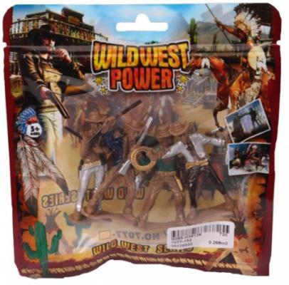 Набор фигурок Наша Игрушка Дикий Запад набор фигурок наша игрушка морские черепашки 10 см px01 7