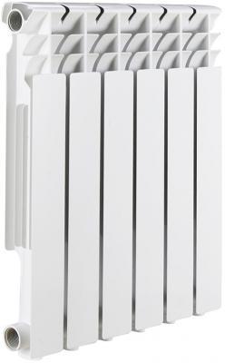 цена Радиатор биметаллический ROMMER Optima BM 500/78 4 секции теплоотдача 500Вт онлайн в 2017 году