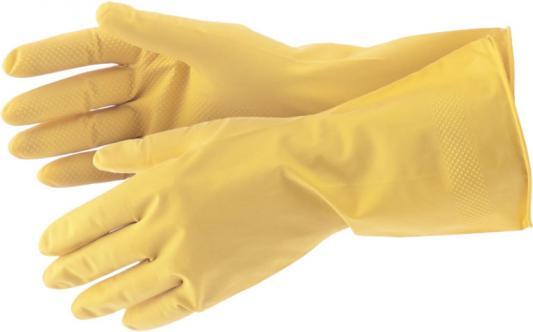 Перчатки СИБРТЕХ 67878 хозяйственные латексные l перчатки латексные русский инструмент 67724 х б 13 класс