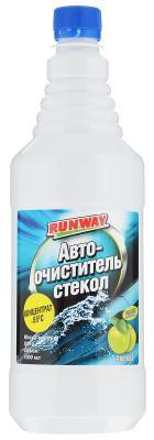 Концентрат RUNWAY RW1068 автоочиститель стекол -55с 1л